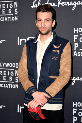 Jay Baruchel stepped out for the HFPA/InStyle party.