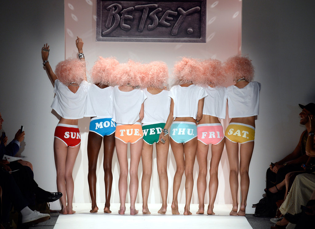 Betsey Johnson Spring 2014