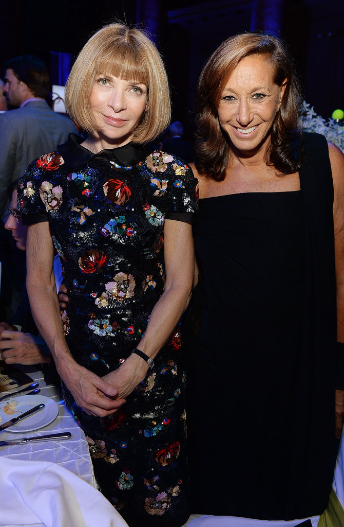 Anna Wintour and Donna Karan were among the guests at the Novak Djokovic Foundation dinner in NYC.