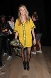 Cara Delevingne wore Rihanna for River Island.