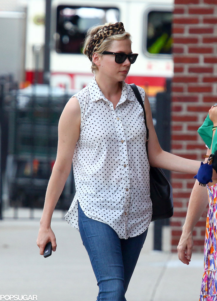 Matilda Matches Michelle Williams in Stylish Shades