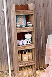 Rustic Wooden Bookshelves For a Pony Party