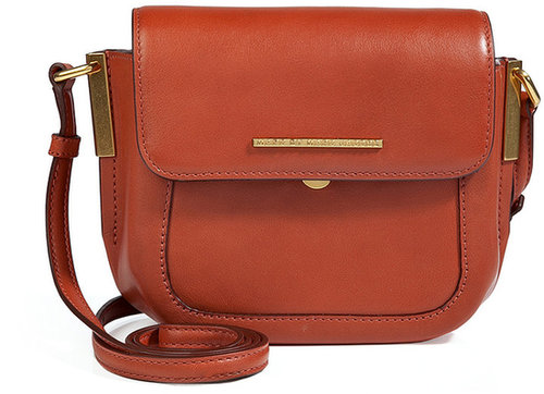 Marc by Marc Jacobs Leather Taylor Crossbody Bag in Red Clay