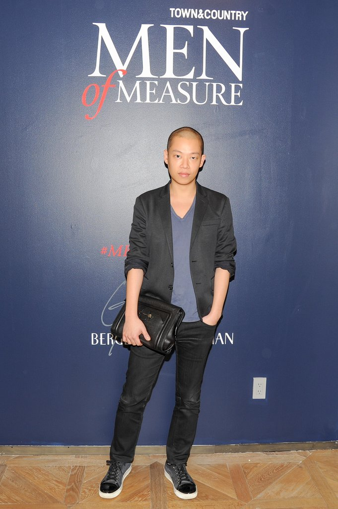 Jason Wu was among the stylish men being celebrated by Bergdorf Goodman and Town & Country.