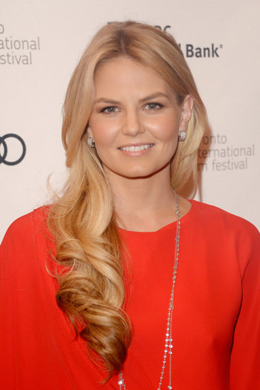 Jennifer Morrison showed off her long locks at the premiere of Felony.