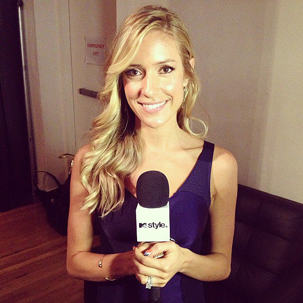 Kristin Cavallari worked with MTV during New York Fashion Week. Source: Instagram user mtvstyle