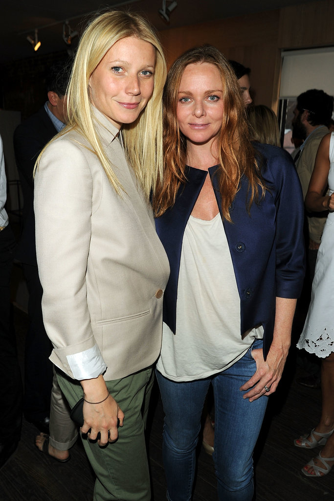 Gwyneth Paltrow and Stella McCartney
