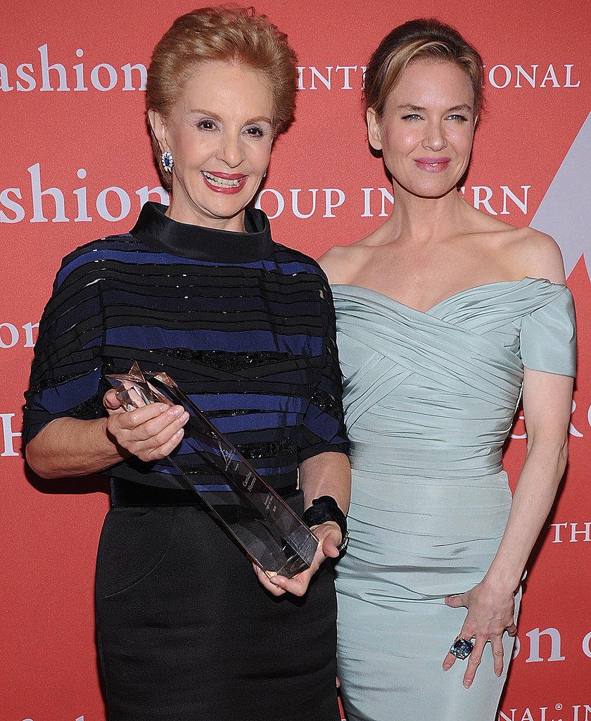 Carolina Herrera and Renée Zellweger