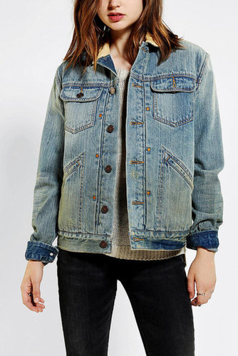 BDG Sherpa-Lined Trucker Jacket