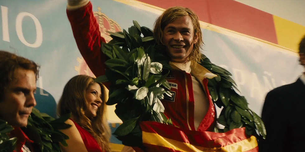 "Video: Chris Hemsworth Dishes on His ""Golden Boy"" Character in Rush"
