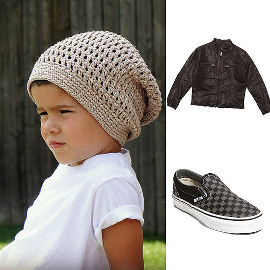 Get the Look: Maddox's Brad Pitt-Inspired Mini-Me Style