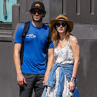 Adam Brody and Leighton Meester Hold Hands in NYC