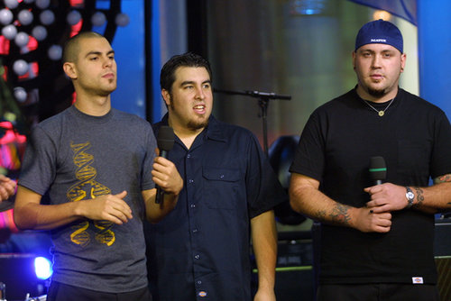Alien Ant Farm visited the NYC studios of TRL in 2001.
