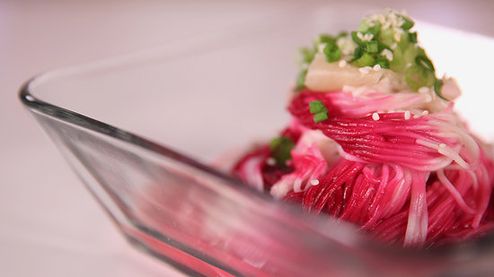 Ombré Noodles: Add 50 Shades of Pink to Your Meal