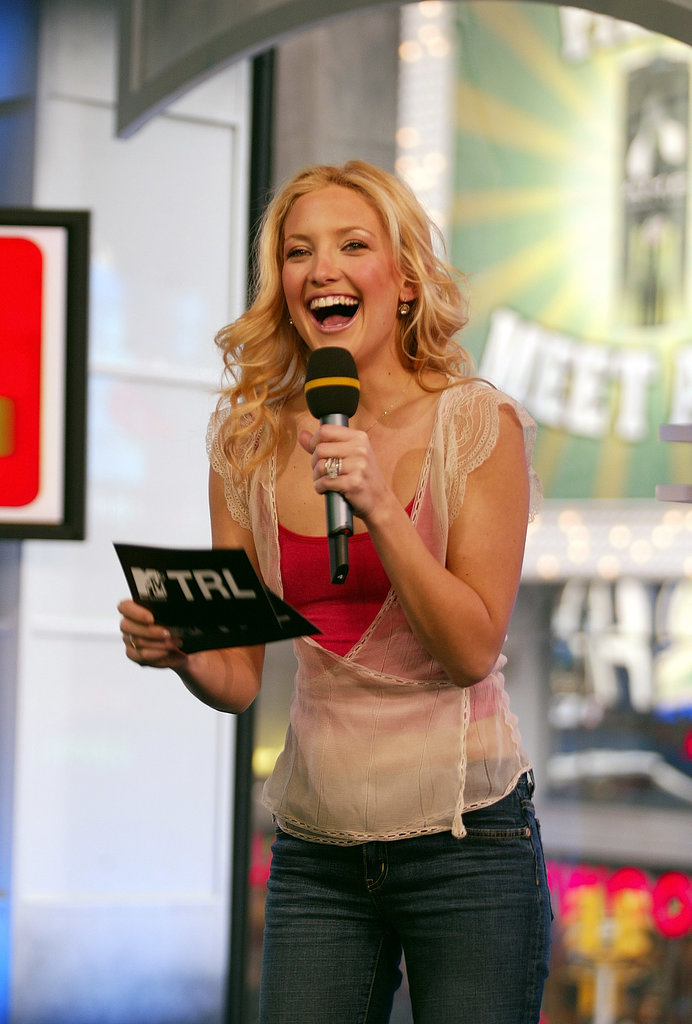 Kate Hudson cracked up during a 2003 appearance.