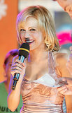 Brittany Murphy promoted her movie Uptown Girls with a 2003 TRL appearance.