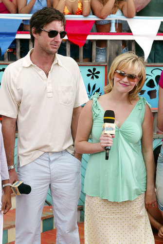 Luke Wilson and Reese Witherspoon were on TRL in 2003.