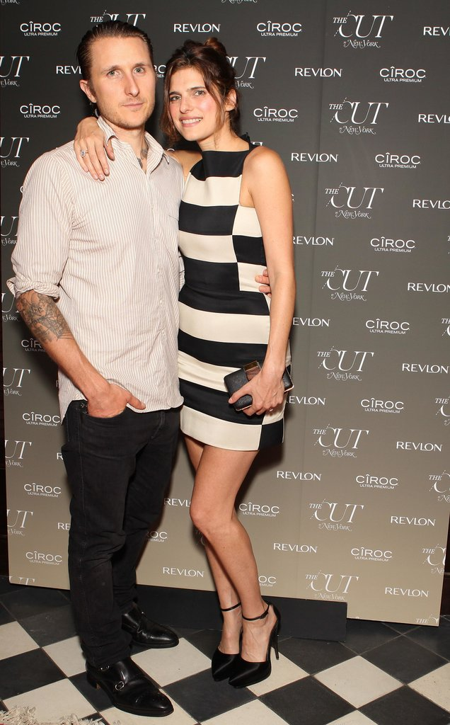 Scott Cambell and Lake Bell coordinated their color palettes for the Gramercy Park Hotel The Cut bash.
