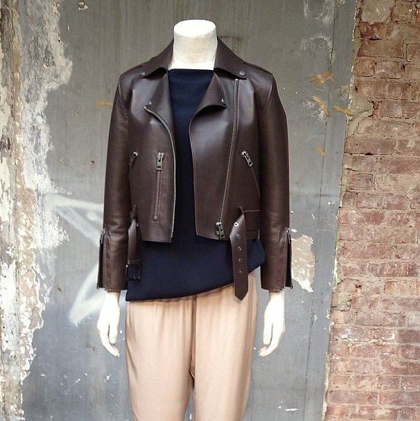 Allsaints is delivering some seriously chic leather pieces for Spring.