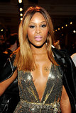 Eve's two-toned straight hair was all the rage at The Blonds' Spring 2014 show.