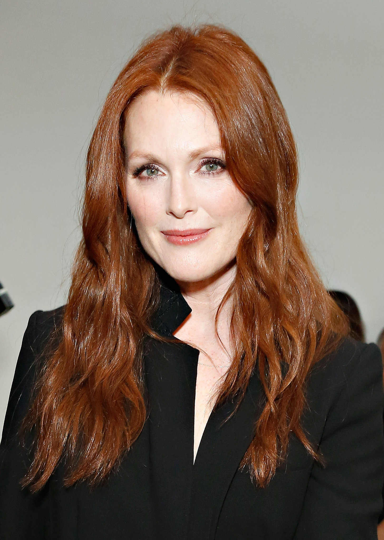 Julianne Moore at Reed Krakoff Spring 2014.