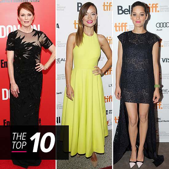 This Week's Best Dressed Bring Gowns Galore