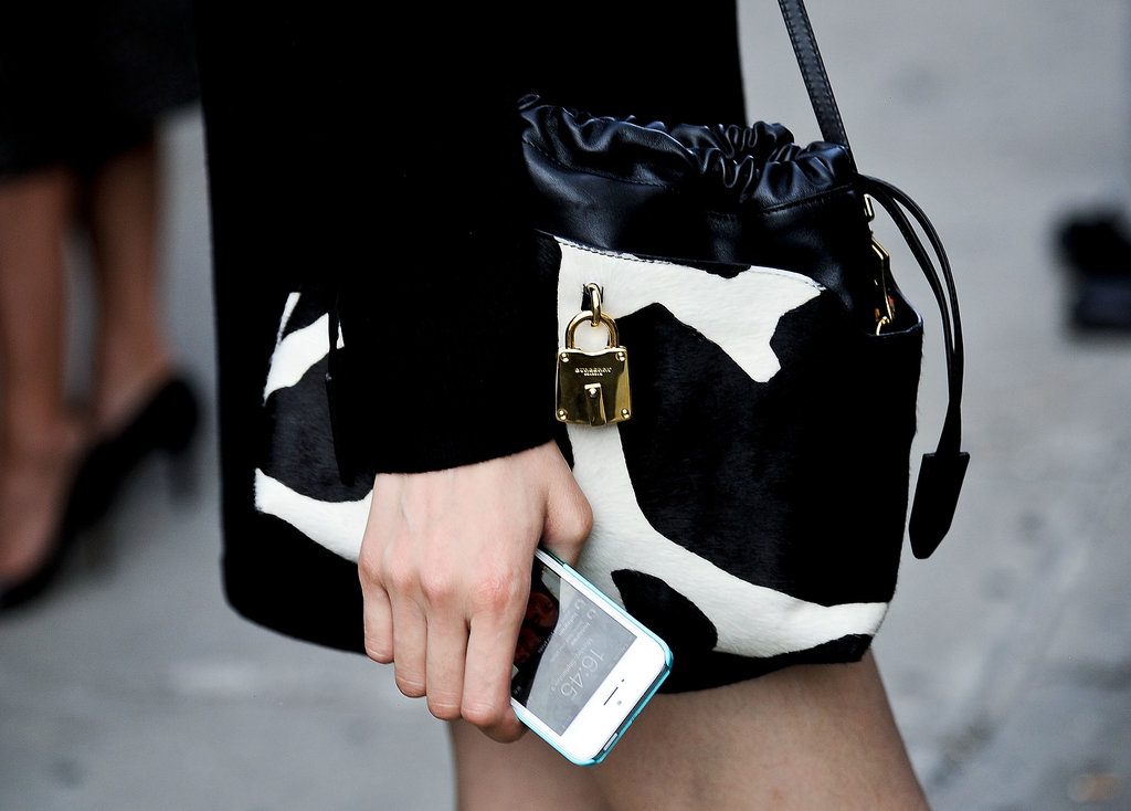 "OK, fine, this isn't necessarily a ""tech bag,"" but let it be known that the iPhone is its perfect complement."