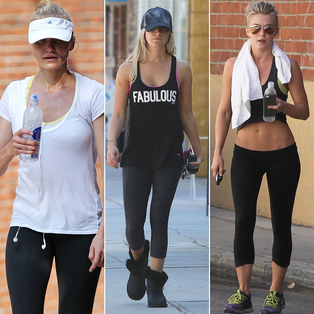 Cycle, Strength, and Stretch — All the Ways Celebs Stayed Fit!
