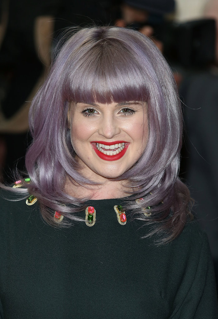 Kelly Osbourne at House of Holland.