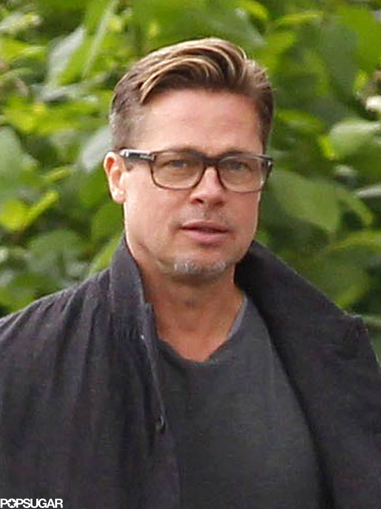 Brad Pitt showed off his
