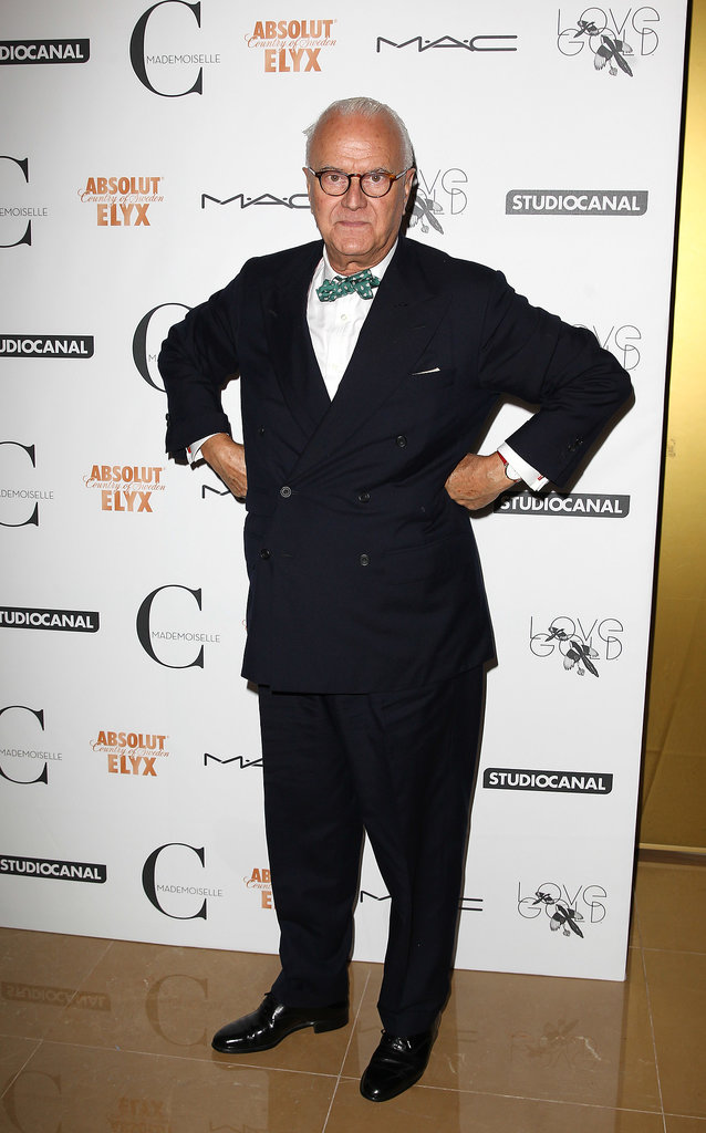 Manolo Blahnik was well-suited for the Mademoiselle C London screening.