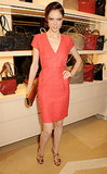 Coco Rocha was red hot in London for the Longchamp flagship store opening.