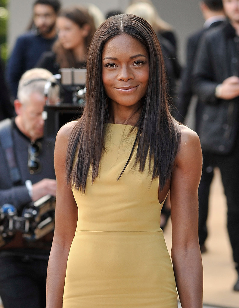 Naomie Harris at Burberry Prorsum Spring 2014.