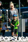 Gwen Stefani joined her son Zuma at an LA park on Sunday.
