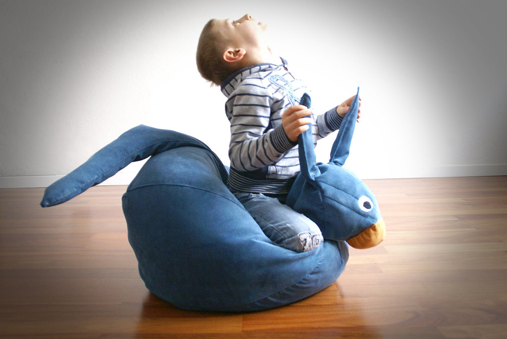 Il Saccotto Blue Kangaroo Bean Bag