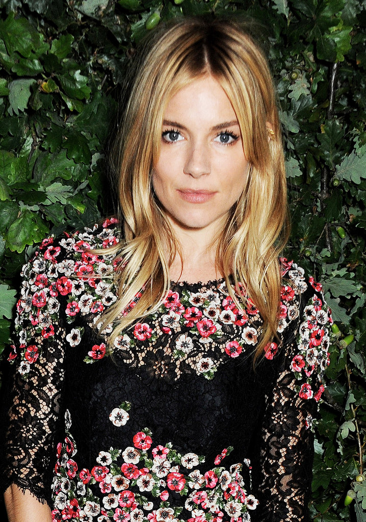 Sienna Miller at An Evening to Celebrate The Global Fund.