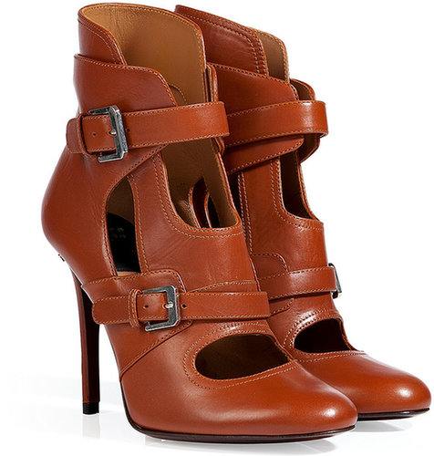 Laurence Dacade Leather Ellen Ankle Boots in Camel