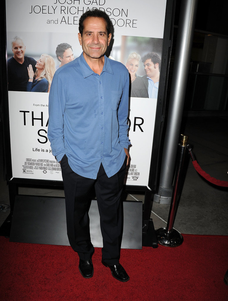 Tony Shalhoub went casual.