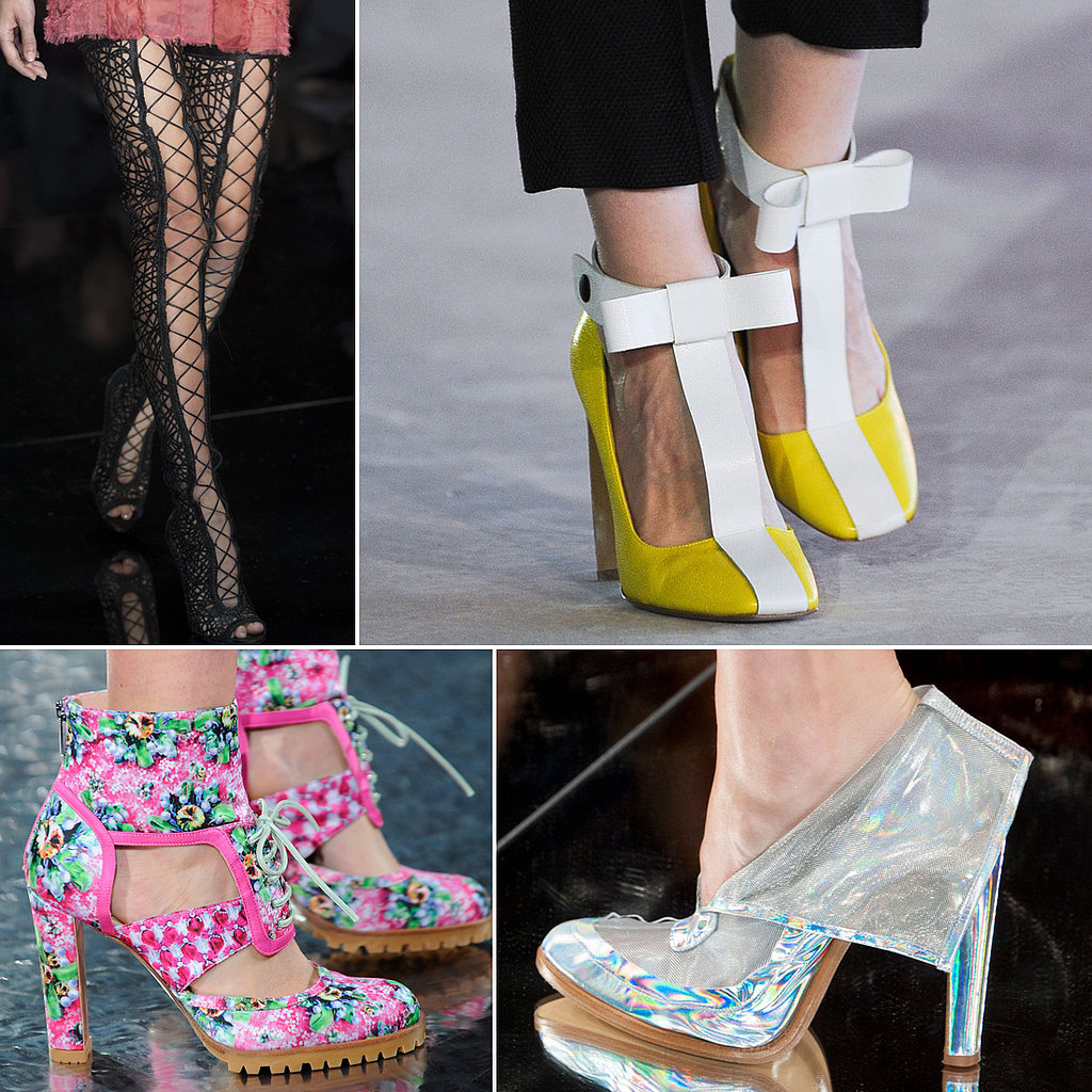 The 112 Best Shoes You Need to See From the London Spring 2014 Runways