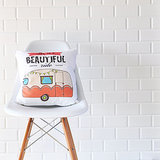 Retro Caravan Pillow