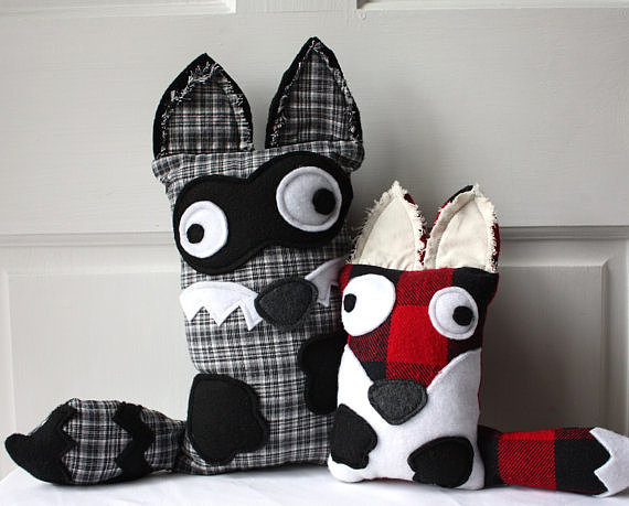 Upcycled Animal Pillows