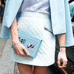 Street Style Shoes and Bags London Fashion Week Spring 2014