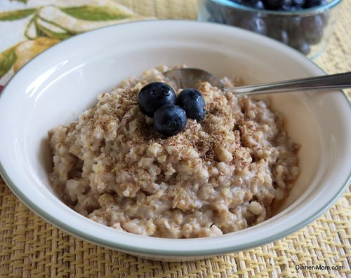 Steel-Cut Crockpot Oatmeal