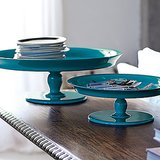 Use these Round Pedestal Trays ($78-$198) for displaying everything from cakes to mail.