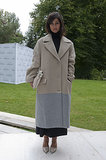 A two-tone coat is a cool way to add interest to your look . .. Exhibit A: