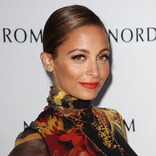 Nicole Richie Orange Lipstick