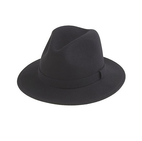 And should you wake up one morning without any energy to construct a J.Crew-catalogue worthy look, just throw this Bailey for J.Crew felt hat ($98) on for an effortlessly cool effect.