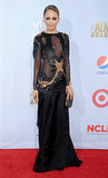 Nicole Richie turned it out on the red carpet at the ALMA Awards in LA in September 2012.
