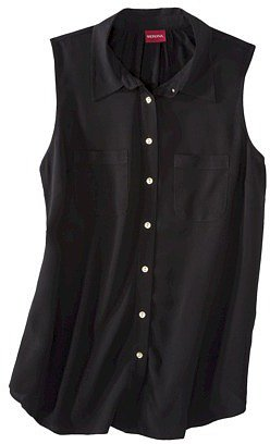 Merona® Women's Sleeveless Button Down Blouse - Assorted Colors