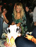Nicole Richie was surprised with a birthday cake of her own during a Teen Vogue Young Hollywood party in LA in September 2006.